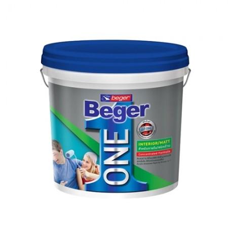 สีน้ำภายใน B เบเยอร์วัน ด้าน 2.5 Beger