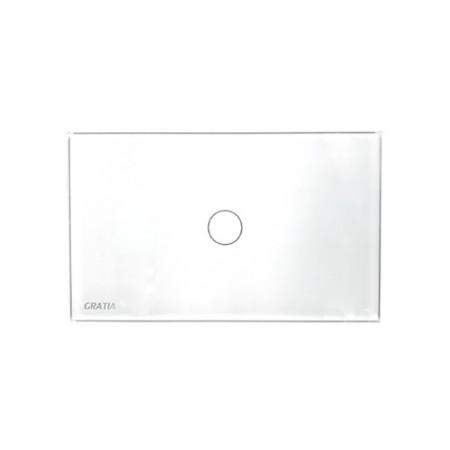 สวิทซ์ไฟ GTS01 W 2x4 GRATIA