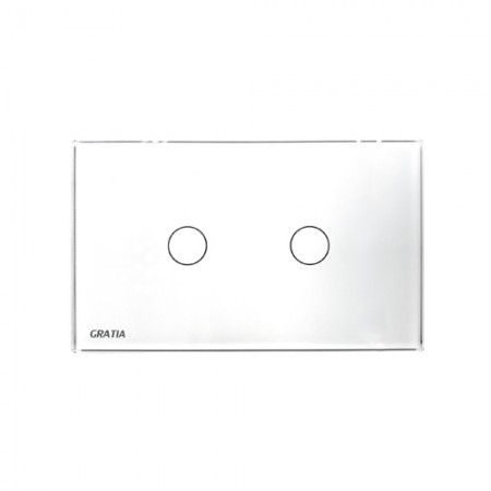 สวิทซ์ไฟ GTS02 W 2x4 GRATIA
