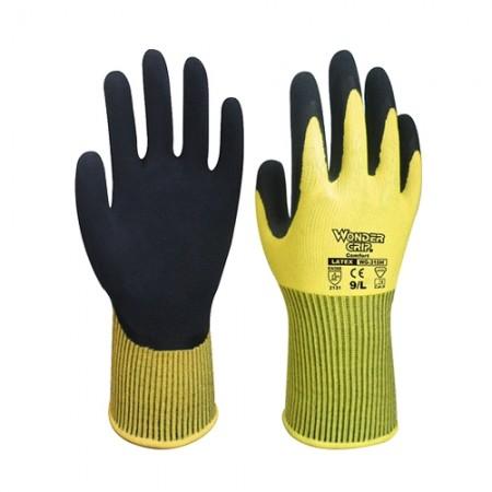ถุงมือผ้าเคลือบยาง 310H WDG, L