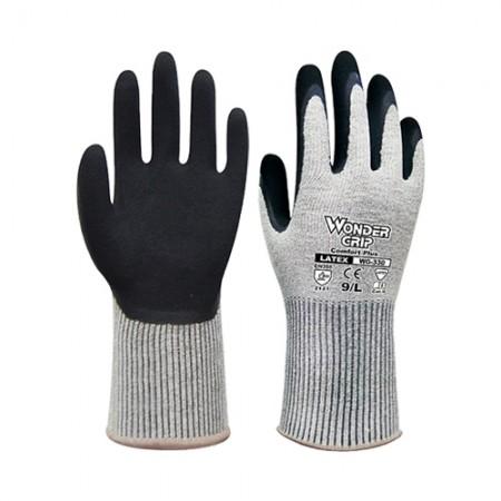 ถุงมือผ้า เคลือบยาง 330 WDG, L