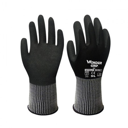 ถุงมือผ้าเคลือบไนไตร กันน้ำมัน 510 WDG, M