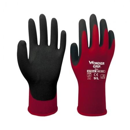 ถุงมือผ้าเคลือบยางไนไตร 1857 WDG, L