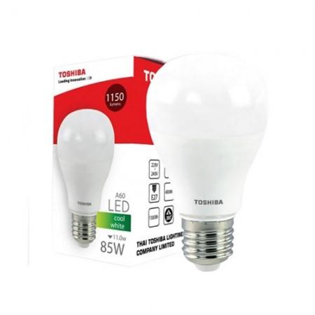 หลอดไฟ LED A60 11W CW E27(G4) TOSHIBA