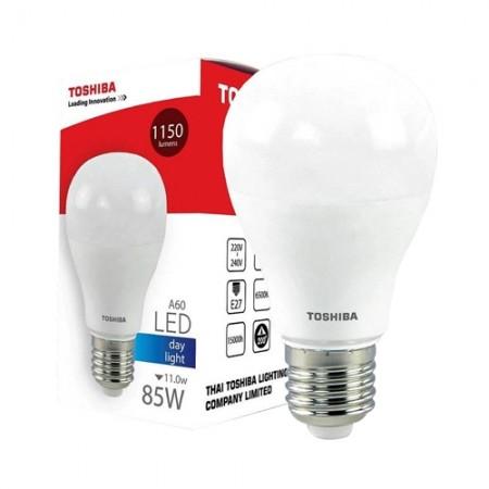 หลอดไฟ LED A60 11W DL E27(G4) TOSHIBA LT