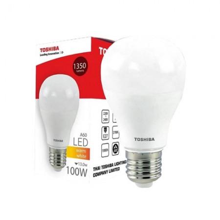 หลอดไฟ LED A60 15W WW E27(G4) TOSHIBA