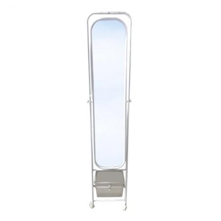 กระจกเงาราวแขวน+2ลิ้นชัก 9088 PRACTICAL