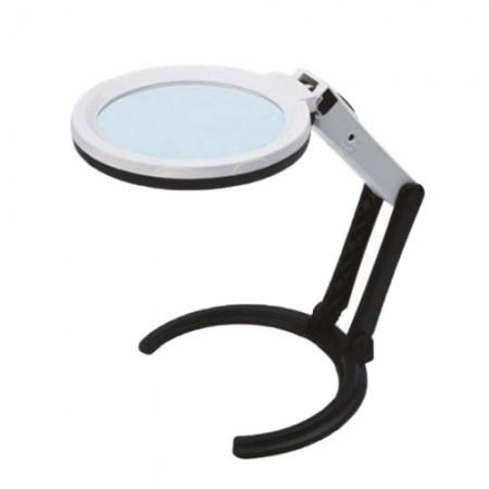 แว่นขยาย3IN1ขาตั้ง+ไฟLED 7512-1 INSIZE