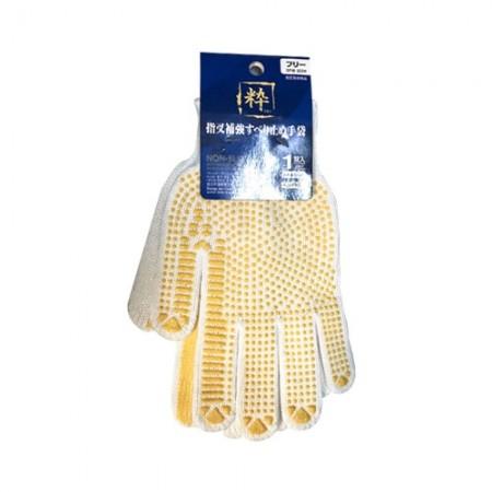 ถุงมือกันลื่นขาวเหลืองแบบญี่ปุ่นC1 EAGLE
