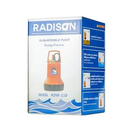 """ปั๊มแช่ 1"""" RDW-110 RADISON"""