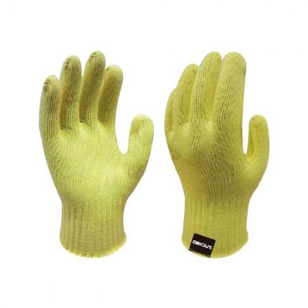 ถุงมือใย Kevlar Aramid กันบาด 10 คู่ WG710 WDG