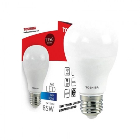 หลอดไฟ LED GEN5 A60 11W DAY LIGHT E27 TOSHIBA LT