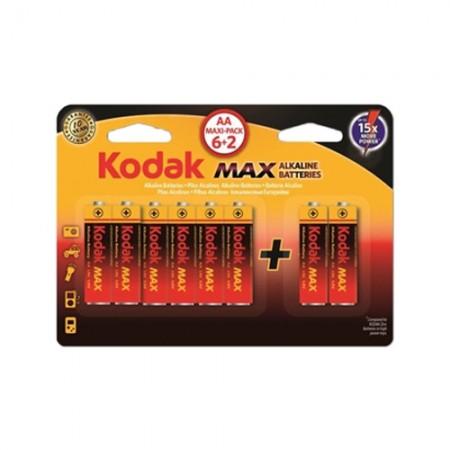 ถ่านไฟฉายอัลคาไลน์ KODAK MAX AA 30411906