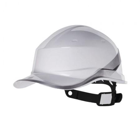 หมวกนิรภัย ABS DIAMOND V DELTA สีขาว DELTAPLUS