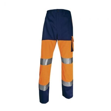 กางเกงทำงาน PHPA2 DELTA ส้มนีออน L DELTAPLUS