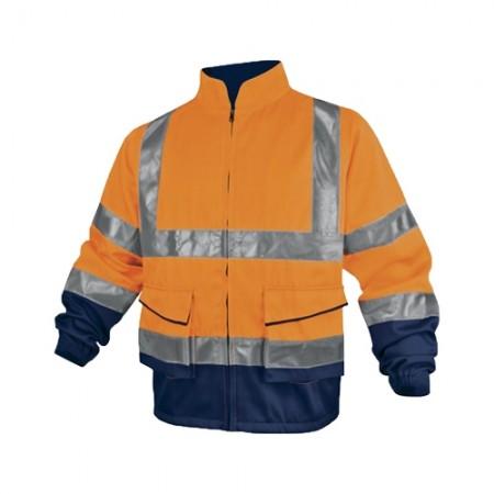 เสื้อแจ็คเก็ต PHVE2 ส้มนีออน M Delta Plus