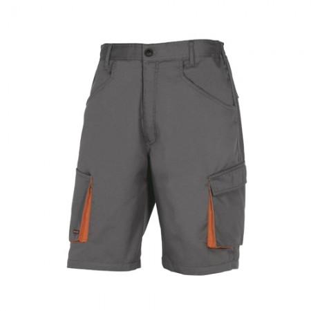 กางเกงขาสั้น M2BE2 DELTA สีเทา L DELTAPLUS