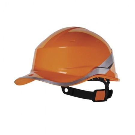 หมวกนิรภัย ABS DIAMOND V DELTA สีส้ม DELTAPLUS