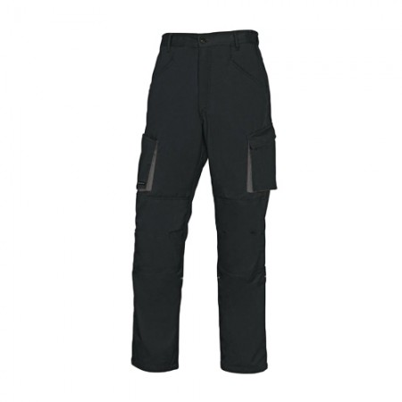 กางเกงทำงาน M2PA2 DELTA สีดำ-เทา L DELTAPLUS