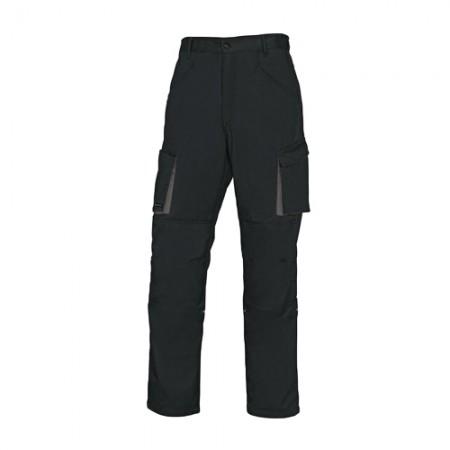 กางเกงทำงาน M2PA2 DELTA สีดำ-เทา XL DELTAPLUS