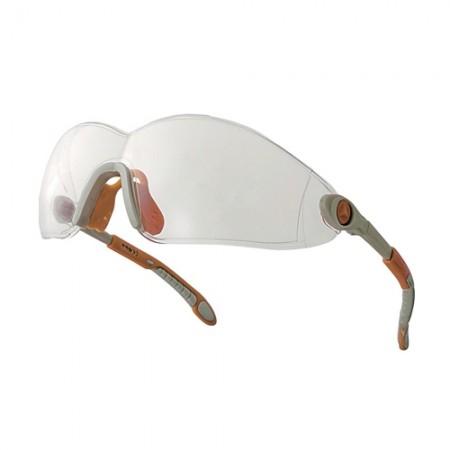 แว่นตานิรภัย POLY VULCANO2 DELTA สีใส DELTAPLUS
