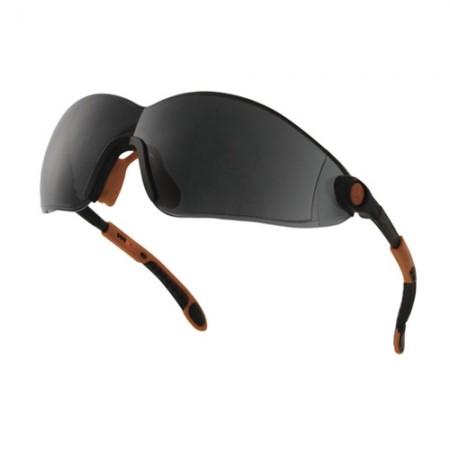 แว่นตานิรภัย POLY VULCANO2 DELTA สีดำ DELTAPLUS