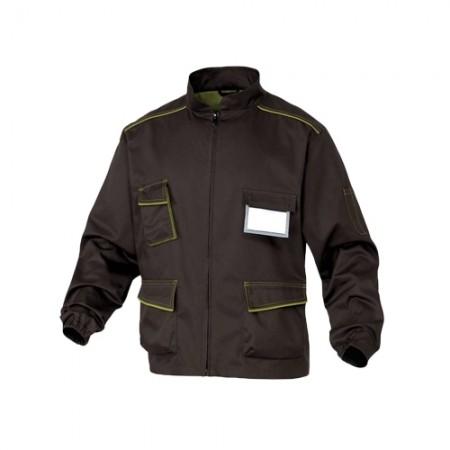 เสื้อแจ็คเก็ตM6VES DELTA สีน้ำตาล XL