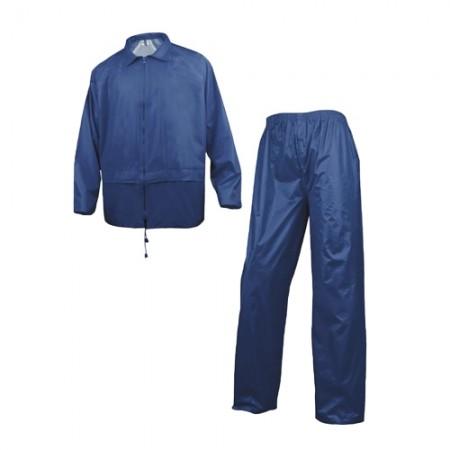 ชุดกันฝนเสื้อกางเกง 400 DELTA กรมท่า L