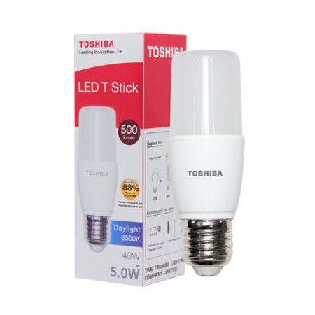 หลอด LED Stick T7 5W DAY LIGHT TOSHIBA