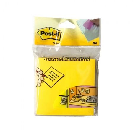 กระดาษโน๊ตPOST IT 3*3 654-HB 3M N-เหลือง