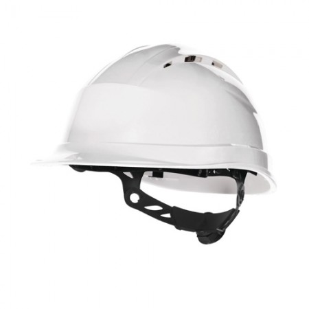 หมวกนิรภัย QUARTZ DELTAPLUS สีขาว=