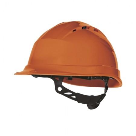 หมวกนิรภัย QUARTZ DELTAPLUS สีส้ม