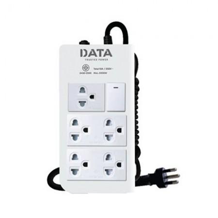 ปลั๊กคอม 5ที่ 1สวิทซ์ DT5148 3ม DATA มอก