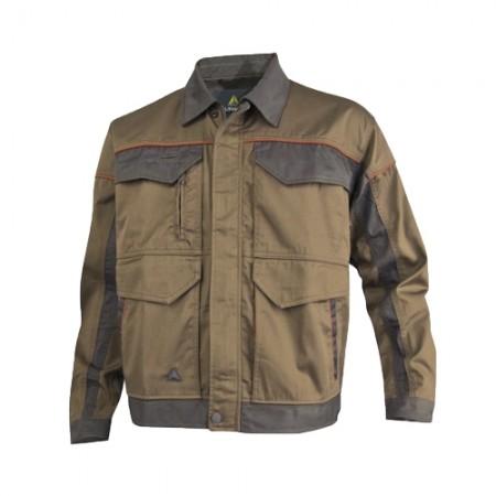 เสื้อแจ็คเก็ตMCVES DELTA สีน้ำตาล S