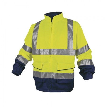 เสื้อแจ็คเก็ต PHVE2 DELTA เหลืองนีออน S