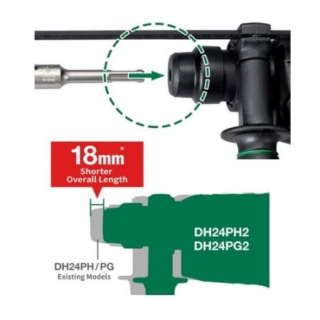 สว่านโรตารี่ 2ระบบ24มม DH24PG(2) HIKOKI