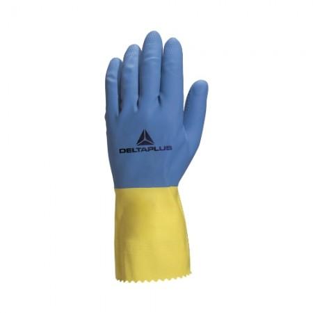 ถุงมือยาง ยาว DUOCOLOR VE330 M DELTA