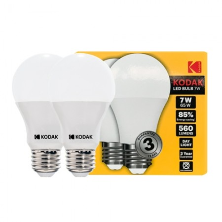 หลอดไฟ LED BULB 7W DL 30420595 (PK2) KODAK