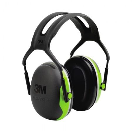 ครอบหูลดเสียง 3M PELTOR™ Optime™ X Series Earmuffs X4A, ชนิดคาดศีรษะ ค่าการลดเสียง 27 เดซิเบล
