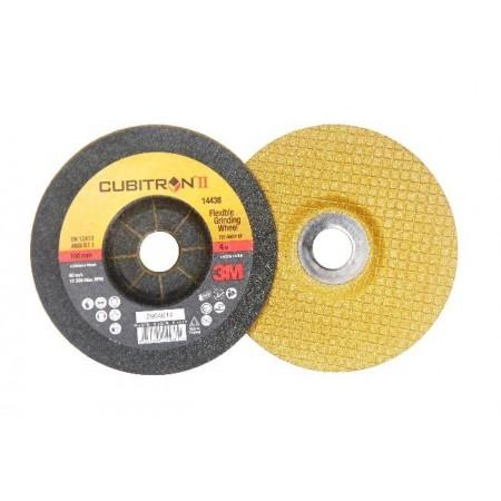 """ใบเจียรบาง ใบทอง 4"""" CUBITRON II No.60+ 3M"""