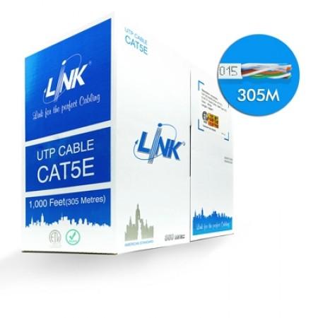 สายแลน CAT5E UTP US-9015 LINK (305ม.)
